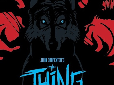 The Thing the thing john carpenter horror movie poster