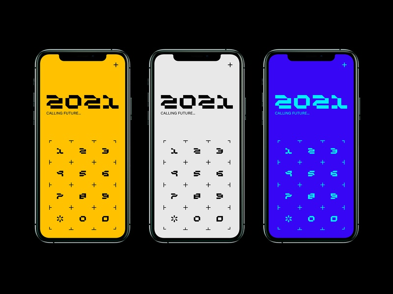 UI Concept - Buttons interface future icon digitaldesign concept dribble designer numbers buttons sci-fi graphic design digital iphone design ui design ui