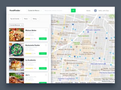 FoodFinder Search