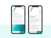 Writer portfolio_Mobile version