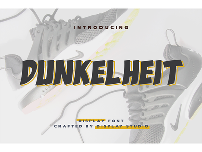Dunkelheit Font italic fontdesign font fonts logotype clothing branding display dunkelheit