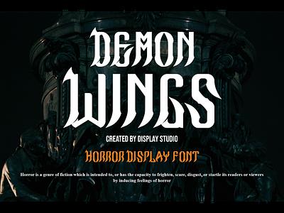 Demon Wings designfont