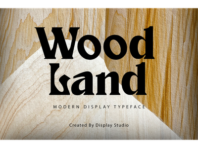 Wood Land greetingcard