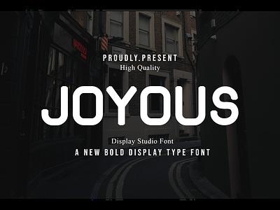 Joyous designfont