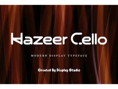 Hazeer Cello invitation