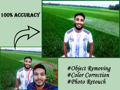 Unnecessary Object Removing and Photo Retouch image manipulation image retouching photo manipulation photo retouch color correction image background object removing retouche photo watermark removal enhancement background removal