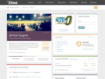 Intranet Homepage - Sharepoint!