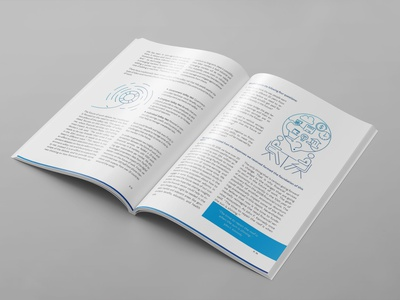 PayPal Project - Future of Work Report inner pages brochure flyer prints illustration graphic design design branding