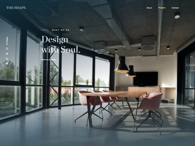 The Shape Web Design website design figma ui design