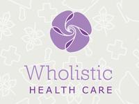 'Wholistic Health Care' Logo