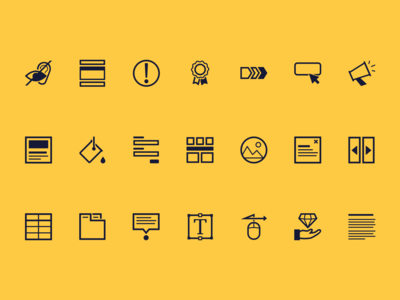 Icon Set - Design System Guide