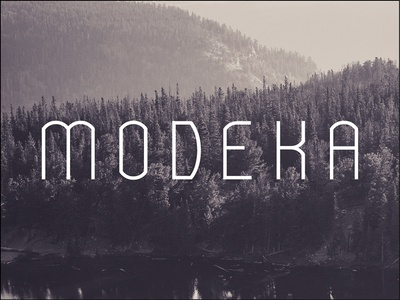 MODEKA - FREE FONT design graphic typography font free typeface