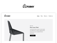 Furny identity user experience user interface ux ui logo branding website furniture