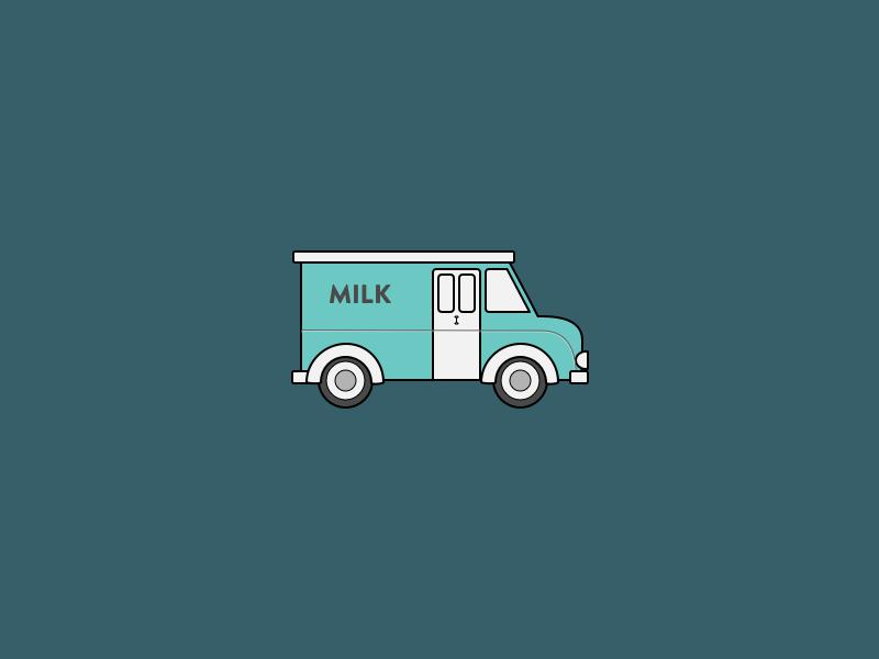 Milk Truck 2 sketch delivery truck milk truck milk