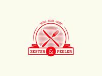 Organic Food Logo - Zester & Peeler