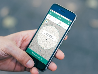 Uber App for Domestic Services material design app ios uber