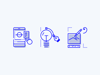 Services icons may1reboot line icons logo branding ui design web design services icons