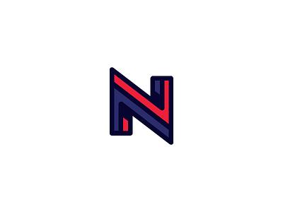Letter N logo n symbol mark identity design logo monogram letter