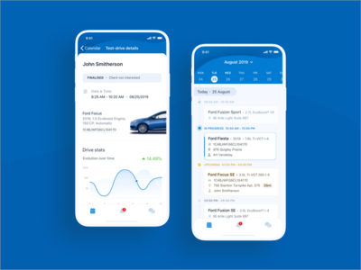 Test Drive Management iOS App - Case study
