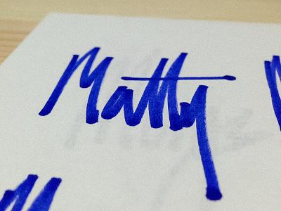 Matty Morgs Rework illustration brand logo identity hand handwritten type matty morgs