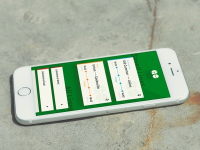 GO!Time App (GOTrain Transit) Toronto commute ttc branding design open data app gotrain toronto mobile ios transit train schedule ui ux iphone