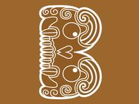Aztec Letter B