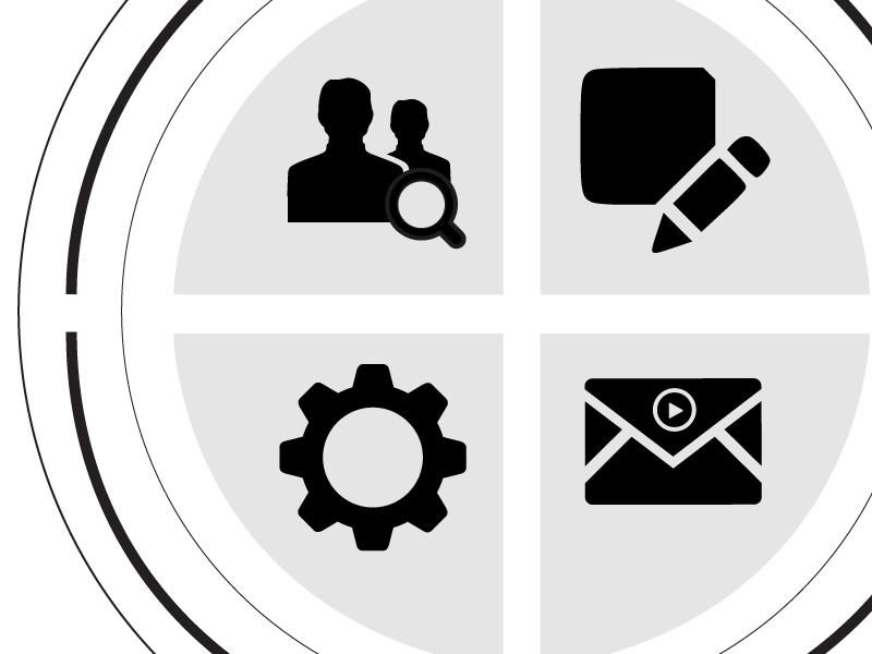 Trippal Homescreen listen user interface icons navigation settings search message