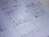 Wireframes for HandleThis