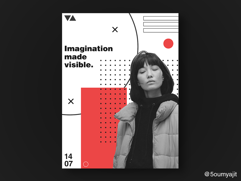 Contrast Collection Pt.1 - Poster Design layoutdesign print minimal elements element red contrast graphic design graphic dribbble dribbble best shot poster a day graphicdesign layout posters poster poster design posterdesign designfeed design