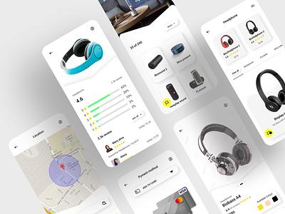 Store app branding mobile app design design website web app ui ux ui design mobile app