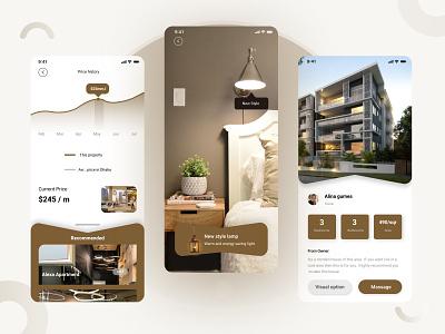 House lamp App ui ux branding mobile app design design website web app ui ux ui design mobile app