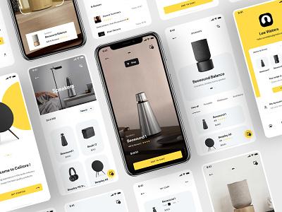 Online Store App store app branding mobile app design design website web app ui ux ui design mobile app
