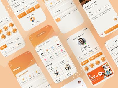 Online shopping app app app design mobile design ui ui ux ui design mobile app