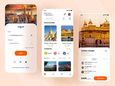 Travel App Design website travel app ui new place place best place long tour go world journy world tour journy tour travel app travel ux ui ui design mobile app