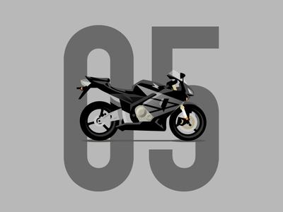 05' CBR600rr
