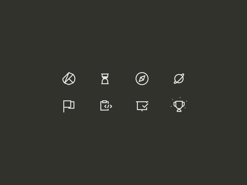 2px line icon