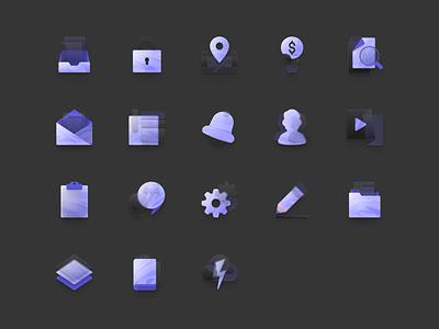 Free Neumorphism Icon Set neumorphism icon iconography neumorphism figmadesign figma design free icons icon design icon icons