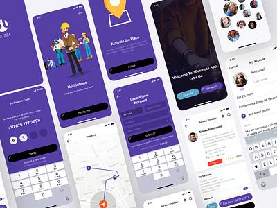 Free Sell Services APP UI Kit uiuxdesign uxdesign mobile app design app mobile app freebie ui ui design free ui ui kit ux ui