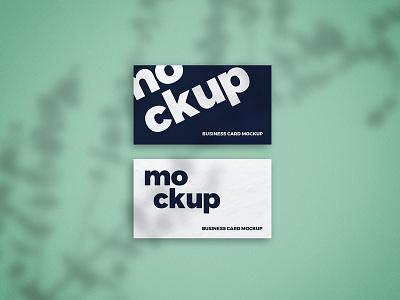 Free Shadow Overlay Business Card Mockup psd mockups mockup template business card mockup mockup design free mockup freebie mockup business card mockup