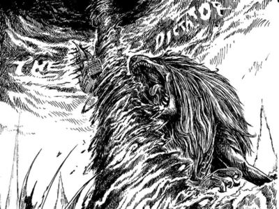 Merlion color draw cartoon black and white graphic art graphic design drawing sketch illustrations manga comic book comic character design art hallo dribbble lanang nyel metaisme