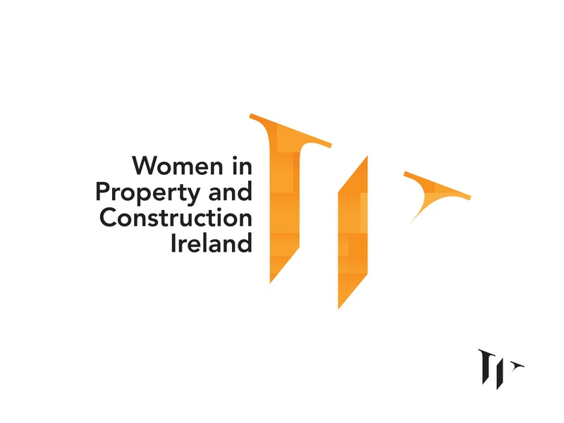 Women in Property and Construction Ireland Logo Design women empowerment symbol design symbol icon logodesign logo network brand identity branding ireland city development property construction women