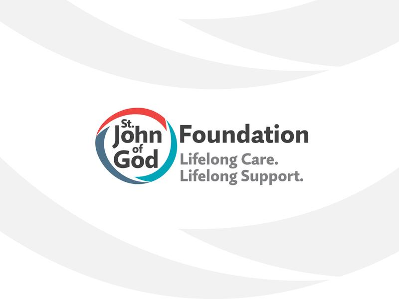Saint John of God Foundation Logo Design logomark logotype brand and identity brand design branding design organisation mental health charity foundation brand identity agency identity logo design icon symbol design symbol branding logo