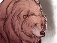 Sad Bear Doodle