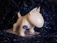 Plasticine Bull Terrier