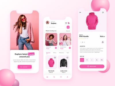 Clothing app homepage india designer figma design fresh design clothing homepage app homepage homepage design app design design designer branding ux ui