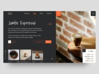 Cafe Website UI/UX Concept uiwork dailyuichallenge userexperience userinterface ui inspiration webdevolpment daily ui uiux design uidesign ux design ui ux design
