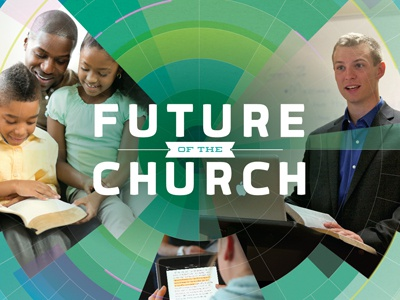 Future of the Church future church bible lecture religion people christian green circle grid quan