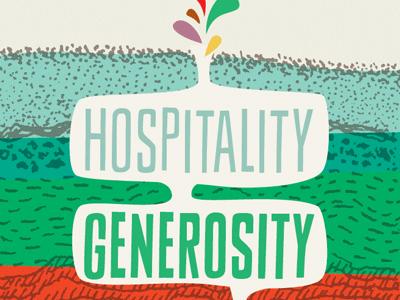 DEEPER deeper hospitality generosity sheldon rooted strata ground illustration colorful church