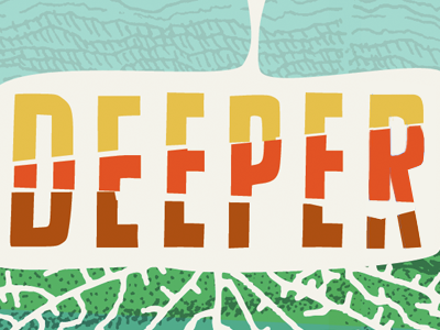Deeper 2 deeper dirt ground colorful roots strata