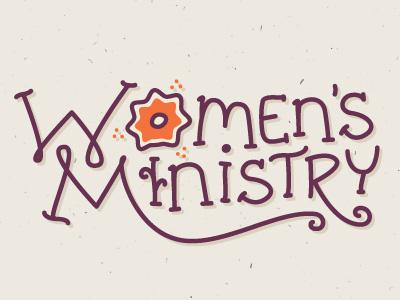 Women's Ministry Logo women ministry bible study flower logo